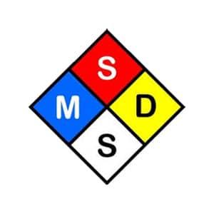 MSDS รับรอง